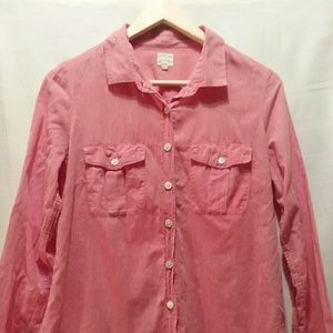 J Crew Medium Button Up Shirt Medium